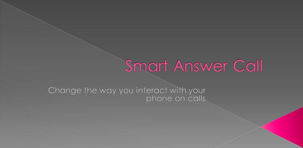 Smart Answer Call 2.6 دانلود نرم افزار پاسخ خودکار به تماس اندروید
