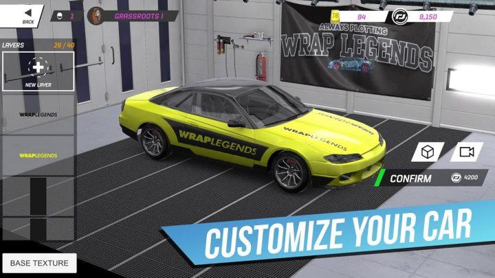 دانلود Torque Drift 1.8.8 بازی ماشین سواری دریفت اندروید + مود