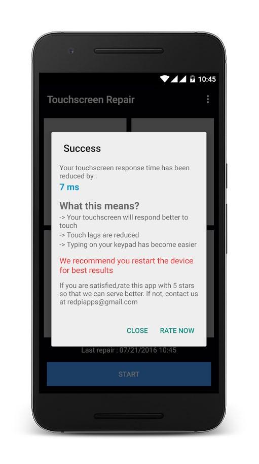 Touchscreen Repair Pro 5.2 دانلود نرم افزار تعمیر صفحه لمسی گوشی