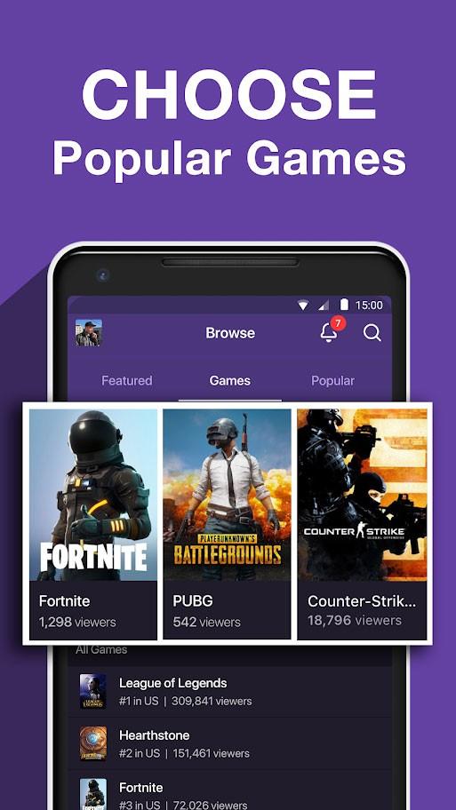 دانلود برنامه Twitch 9.3.0 توییچ گیمرها برای اندروید