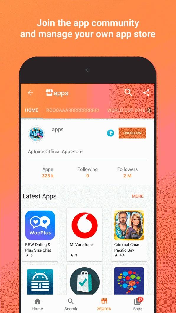 دانلود Aptoide Pro 9.11.0.5 Final – برنامه مارکت خارجی اپتوید اندروید