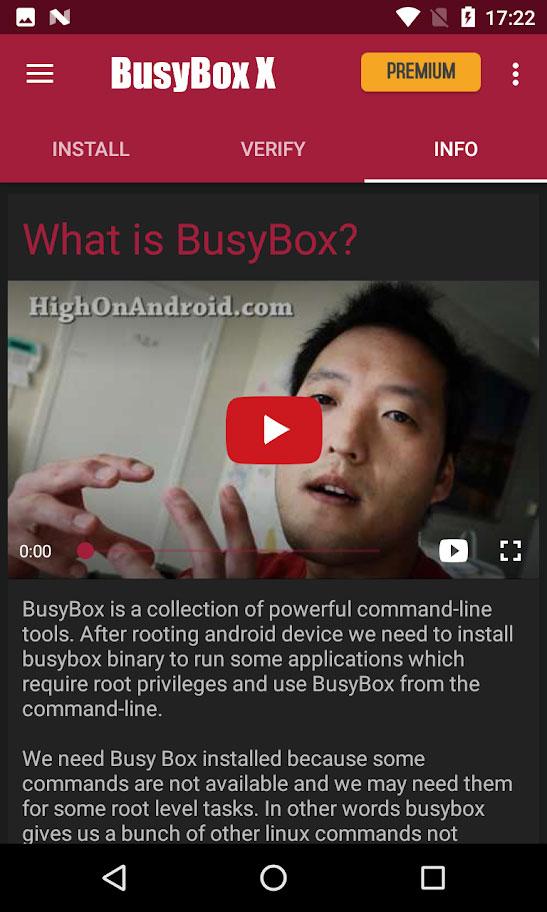 BusyBox X Pro [Root] X+ 107 دانلود برنامه بیزی باکس ایکس اندروید