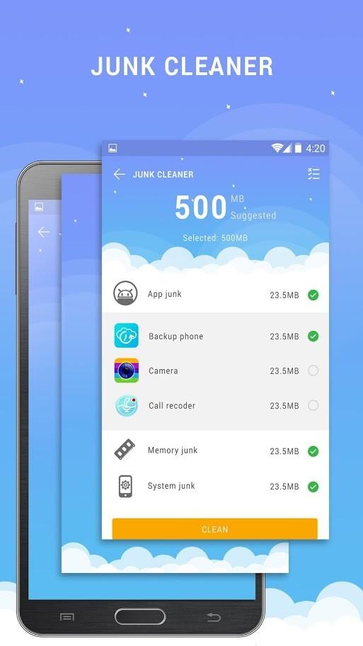 Cleaner – Boost Mobile Pro 1.15 پاکسازی حافظه و رم اندروید
