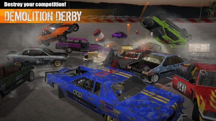 دانلود Demolition Derby 3 1.0.068 – بازی دربی ویرانگر 3 اندروید + مود