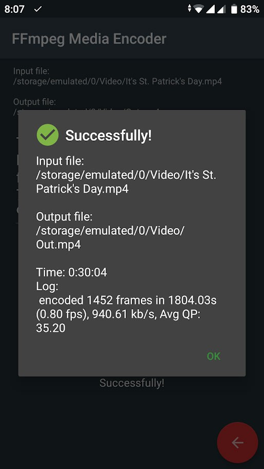 FFmpeg Media Encoder Pro 3.0.9 دانلود برنامه مبدل صوتی تصویری اندروید