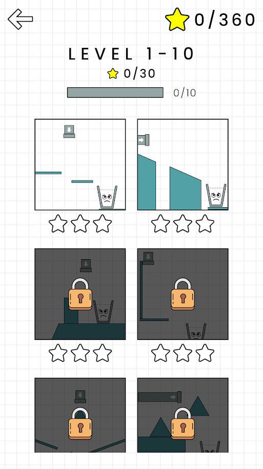 دانلود Happy Glass 1.0.54 بازی پر کردن لیوان خوشحال اندروید + مود