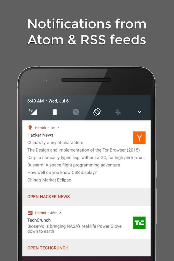 دانلود Hermit • Lite Apps Browser Pro 18.0.10 نسخه کم حجم برنامه های اندروید