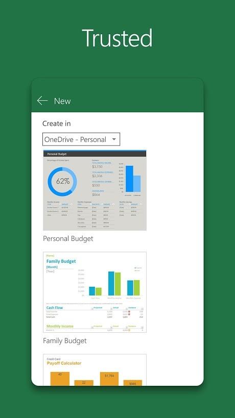 دانلود Microsoft Excel 16.0.13231.20130 Final مایکروسافت اکسل اندروید