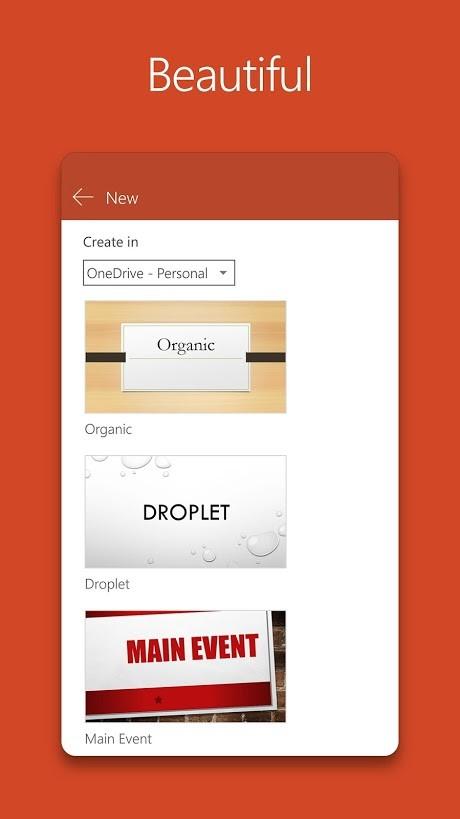 دانلود Microsoft PowerPoint 16.0.13231.20130 Final پاورپوینت اندروید