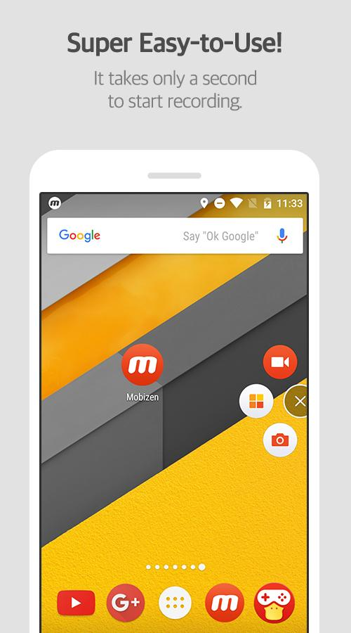 Mobizen Screen Recorder Pro 3.6.3.4 فیلمبرداری از صفحه گوشی