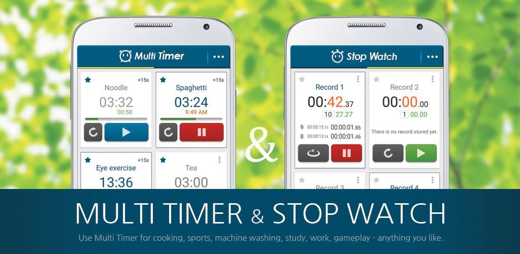 دانلود Multi Timer StopWatch Premium 2.6.5 برنامه تایمر و کرنومتر اندروید