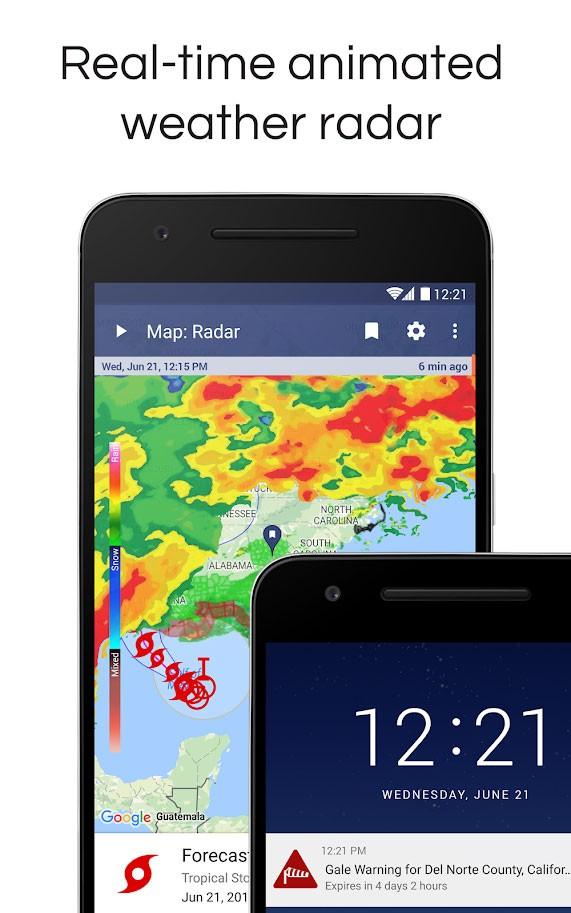دانلود NOAA Weather Radar Live & Alerts Pro 1.32.1 برنامه هواشناسی اندروید