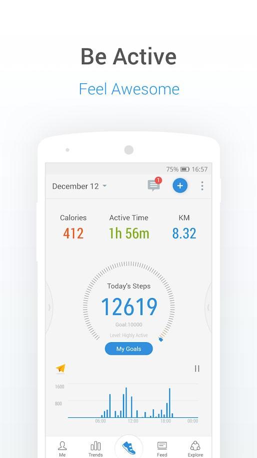 دانلود Pacer Pedometer Premium p7.4.2 برنامه قدم شمار اندروید