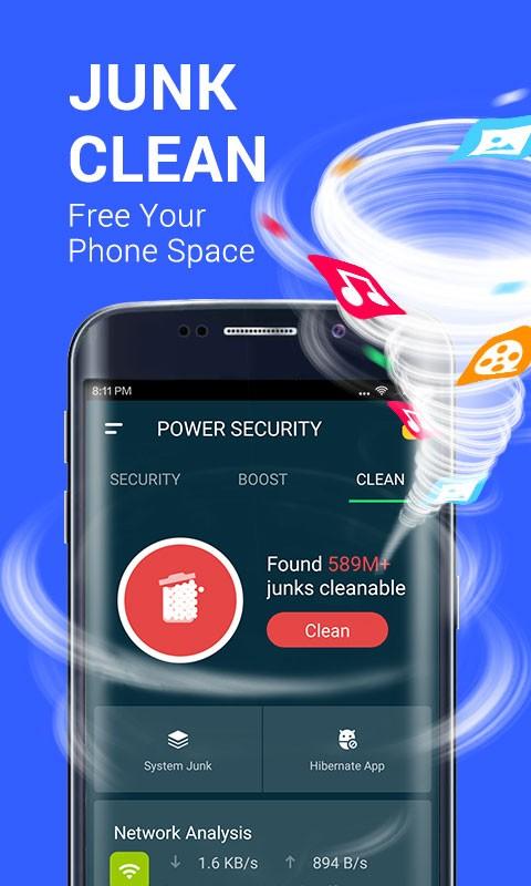 Power Security Pro 2.1.2 دانلود آنتی ویروس پاور سکوریتی اندروید