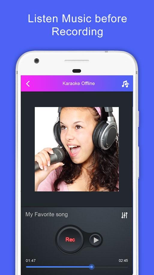 Sing Karaoke Offline Pro 1.10 دانلود برنامه کارائوکه و خوانندگی اندروید
