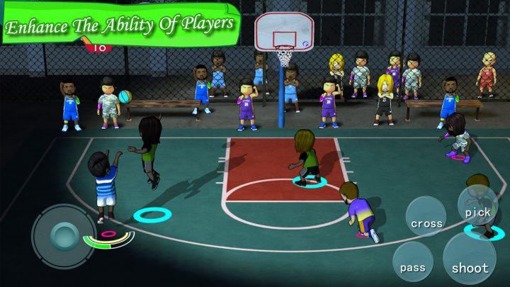 Street Basketball Association 3.1.3 دانلود بازی بسکتبال خیابانی + مود