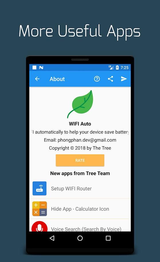 WIFI Auto Pro 1.1 خاموش و روشن کردن خودکار اینترنت گوشی