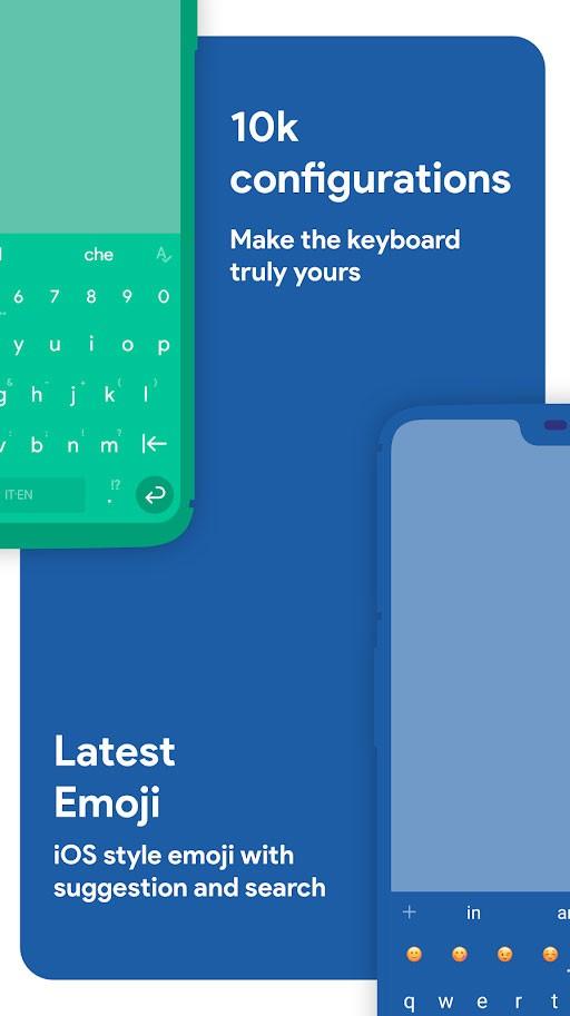 دانلود Chrooma Keyboard Pro 4.9.17 برنامه کروما کیبورد اندروید