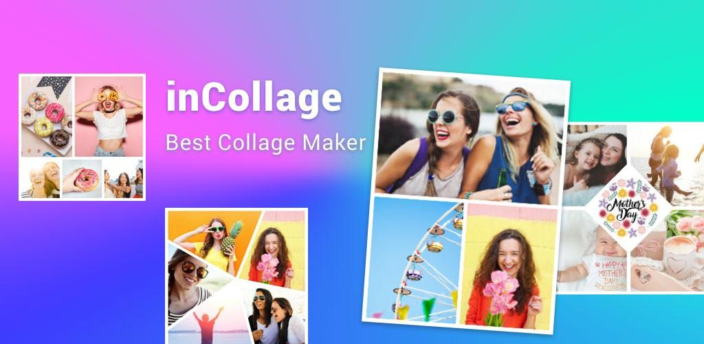 دانلود Collage Maker inCollage Pro 1.26.85 – کلاژ ساز حرفه ای اندروید
