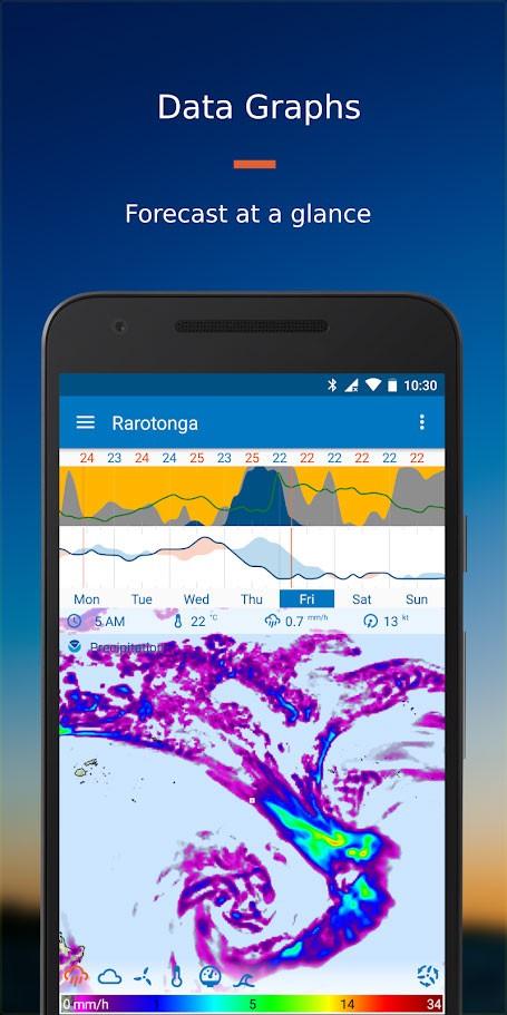 دانلود Flowx: Weather Map Forecast Pro 3.218 – برنامه هواشناسی اندروید