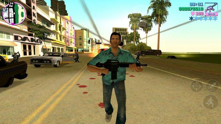 Grand Theft Auto: Vice City 1.09 دانلود بازی جی تی ای وایس سیتی + مود