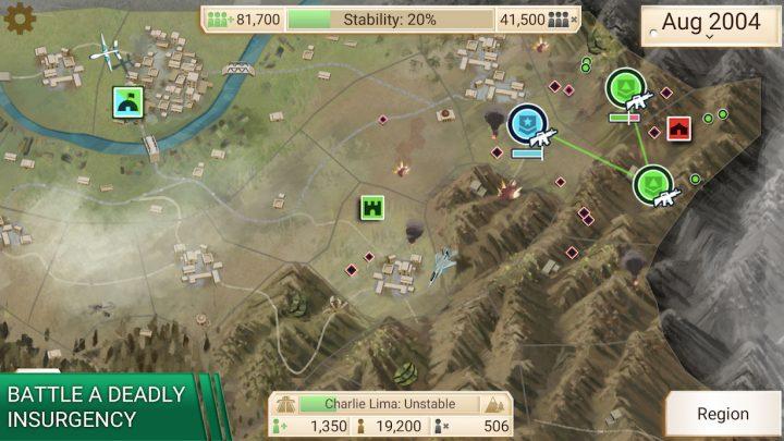 Rebel Inc 1.2.0 دانلود بازی شبیه ساز شورش اندروید + مود