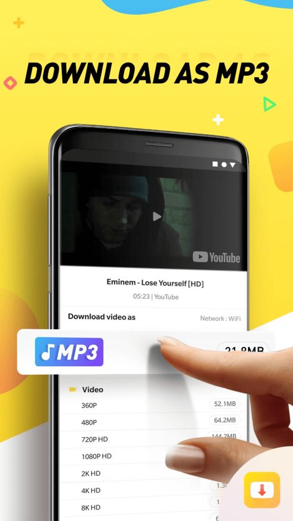 دانلود SnapTube VIP 5.08.1.5081401 برنامه اسنپ تیوب اندروید