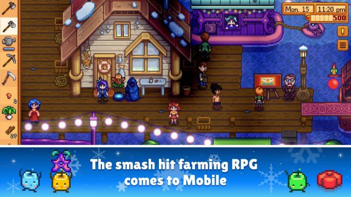 Stardew Valley دانلود بازی مزرعه داری و کشاورزی اندروید