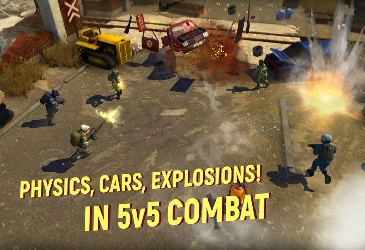 Tacticool – 5v5 shooter 1.3.0 دانلود بازی تیراندازی اندروید