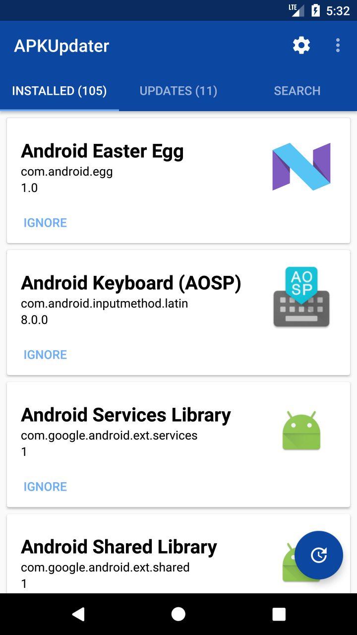 دانلود APKGrabber 1.6.4 نصب و آپدیت برنامه های اندروید بدون گوگل پلی استور