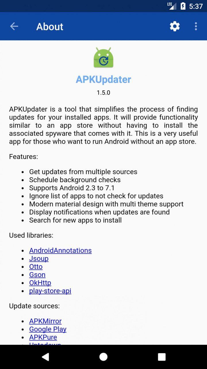 APKGrabber 1.6.3 نصب و آپدیت برنامه های اندروید بدون گوگل پلی استور
