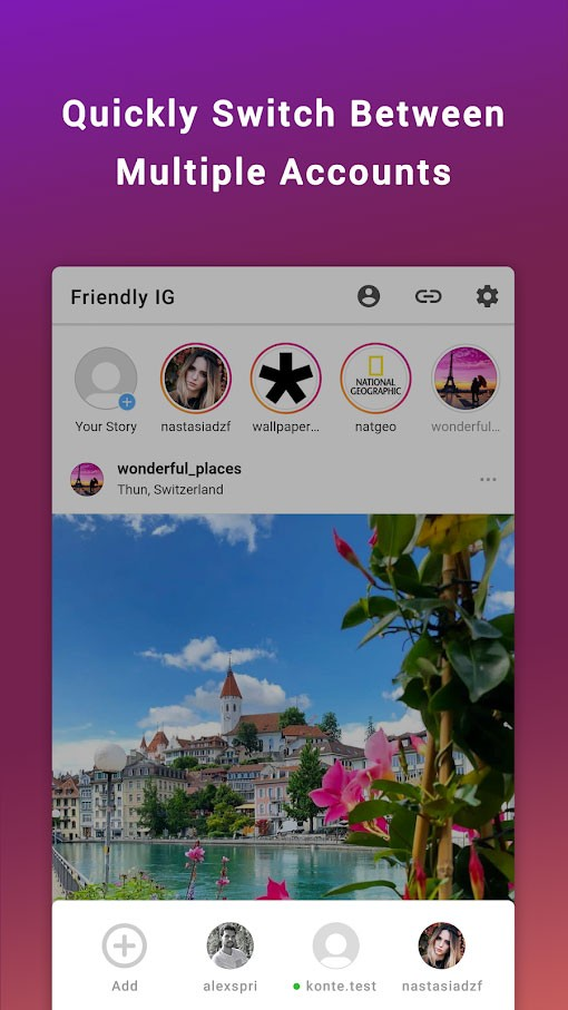 Friendly for Instagram Premium 1.0.6 دانلود اینستا دانلودر برای اندروید