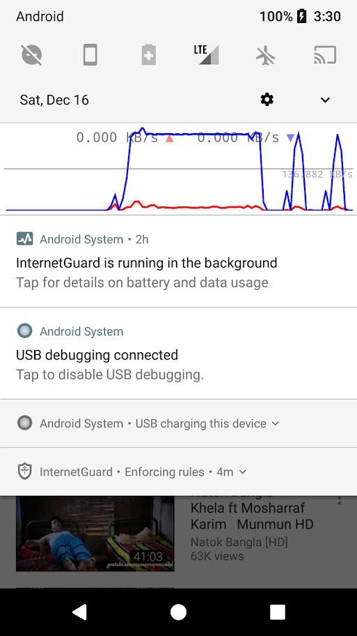 InternetGuard Data Saver Firewall Pro 2.06 دانلود فایروال بدون روت