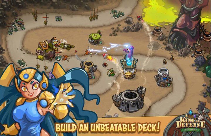 دانلود King Of Defense: Battle Frontier 1.5.16 بازی پادشاه دفاع اندروید + مود