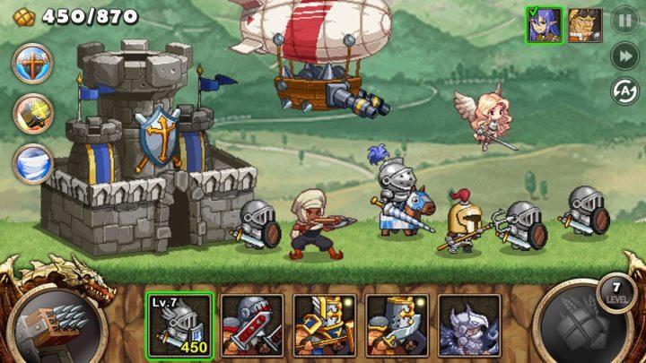 Kingdom Wars 1.4.5 دانلود بازی جنگ های پادشاهی برای اندروید + مود