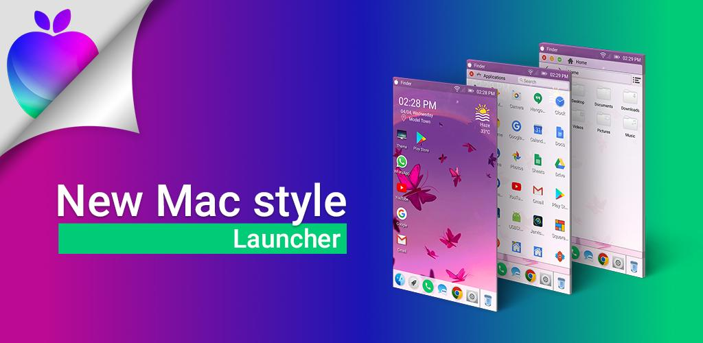 Launcher for Mac OS Style Pro 3.7 دانلود لانچر مک او اس برای اندروید