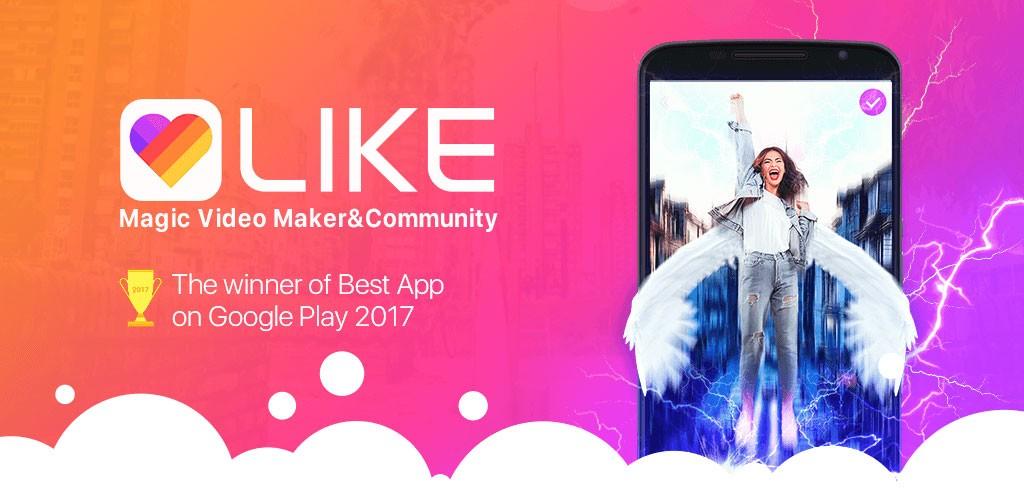 دانلود Likee Formerly LIKE Video 3.21.50 برنامه لایک ویدئو ساز اندروید