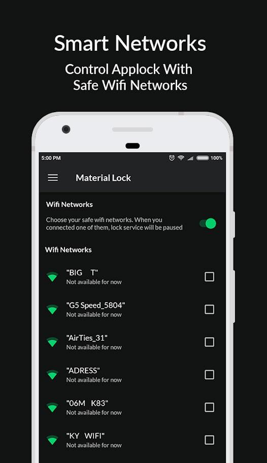 Material Lock Pro 2.5.2 دانلود قفل برنامه و قفل اثر انگشت اندروید
