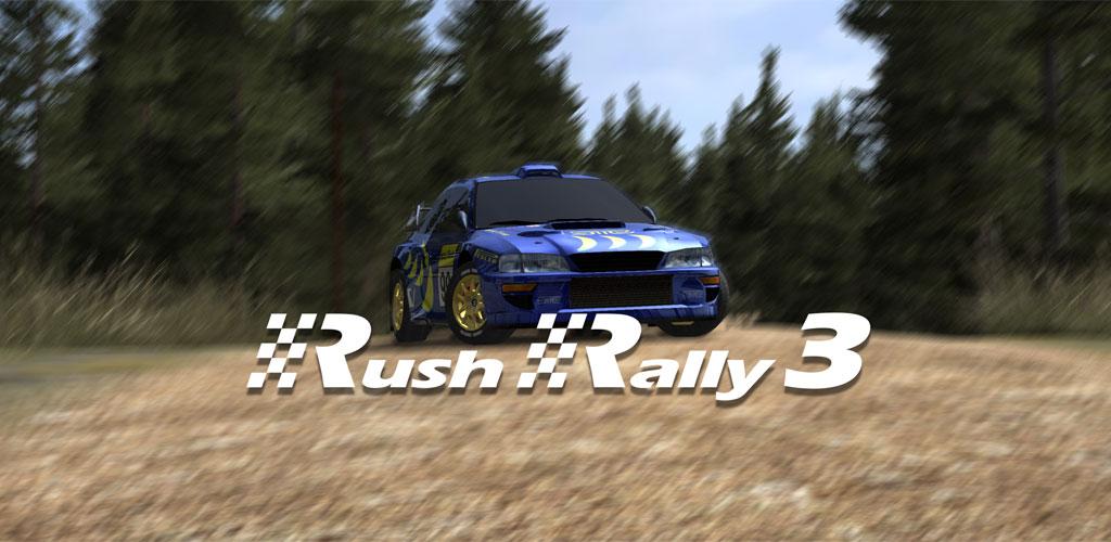 دانلود Rush Rally 3 1.90 بازی ماشین سواری رالی برای اندروید + مود