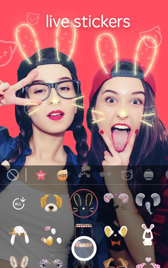 Sweet Snap Pro 2.26.100355 دانلود دوربین فیلتر و استیکر زنده اندروید