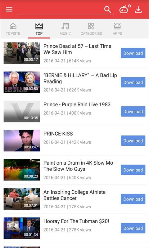 برنامه Vidmate Pro 4.2315 دانلود ویدیو و موزیک آنلاین اندروید