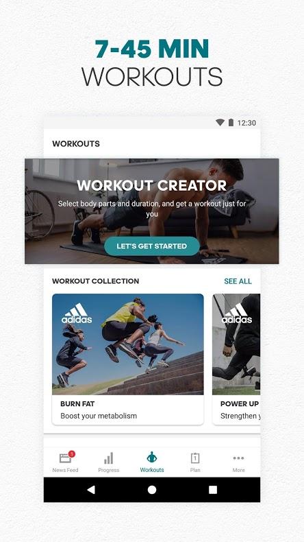 دانلود adidas Training by Runtastic – Fitness Workouts Premium 4.12.2 اندروید