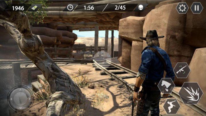 Cowboy Gun War 1.1.2 دانلود بازی جنگ کابوی ها برای اندروید + مود
