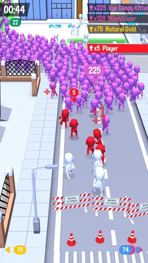 Crowd City 1.3.0 دانلود بازی جمعیت شهر برای اندروید + مود