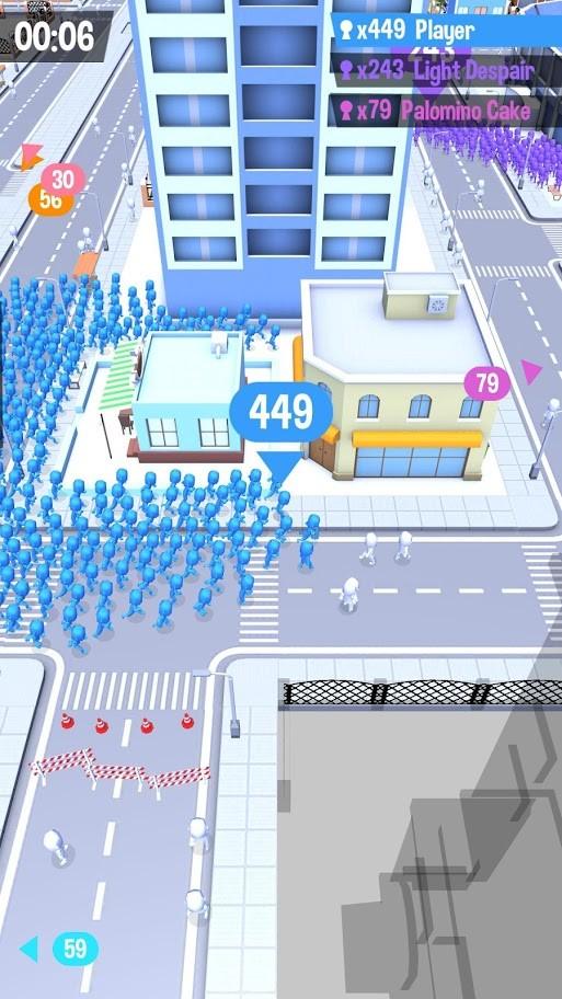 دانلود Crowd City 1.7.13 بازی جمعیت شهر برای اندروید + مود