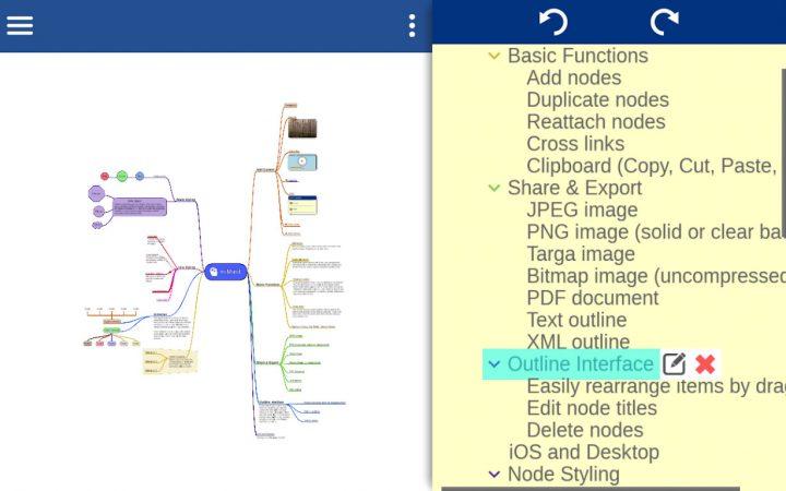 دانلود miMind Pro 2.59 برنامه نقشه ذهنی آسان برای اندروید