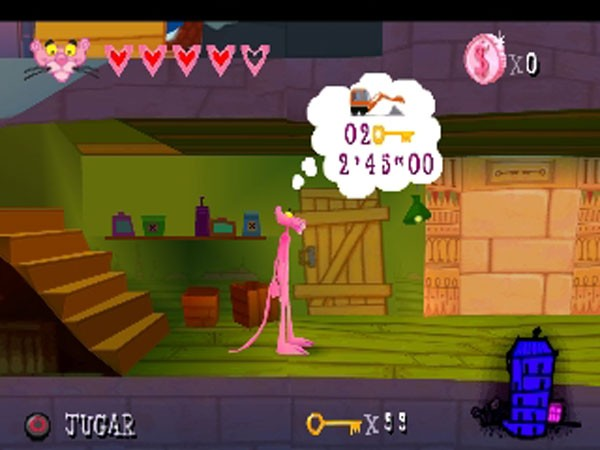 Pink Panther 1.9 دانلود بازی پلنگ صورتی برای اندروید