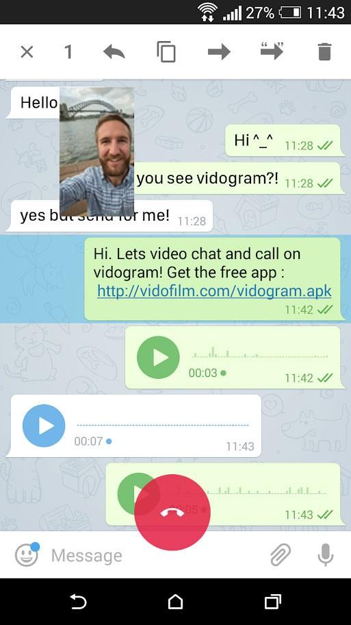 دانلود ویدوگرام Vidogram 2.0.6 نسخه جدید برای اندروید