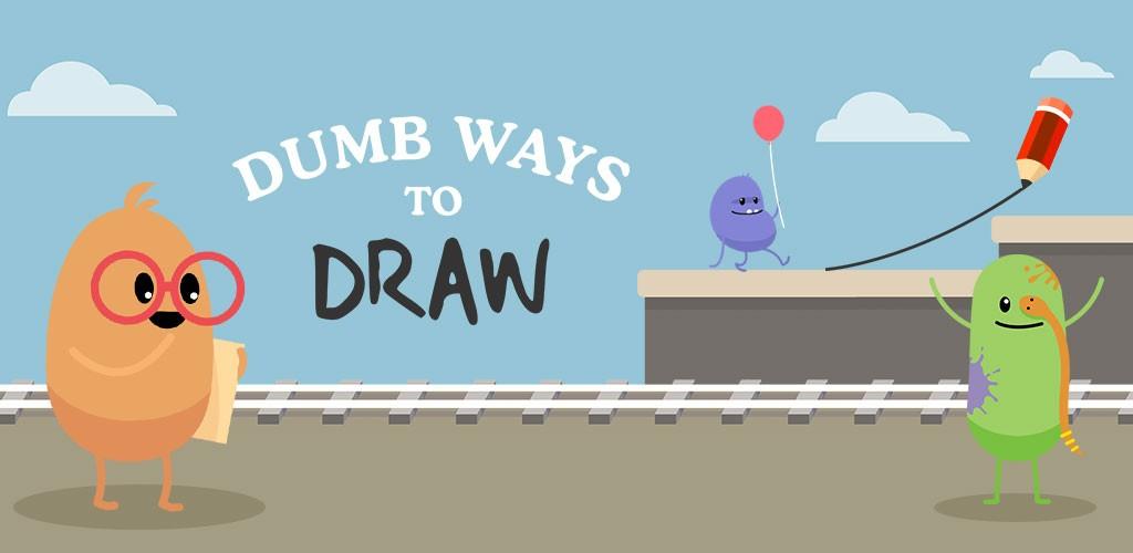 دانلود Dumb Ways To Draw 5.0.3 بازی راه های احمقانه نقاشی اندروید + مود
