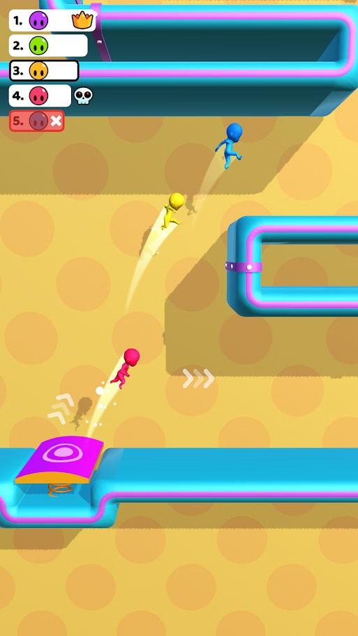Run Race 3D 1.2.5 دانلود بازی مسابقه دویدن اندروید + مود